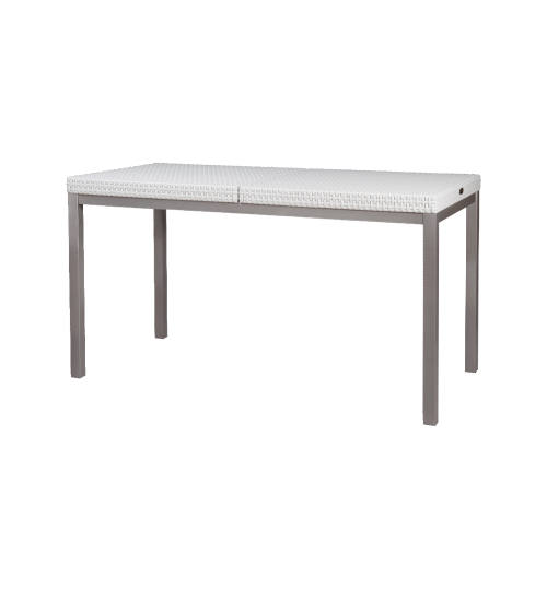 Lagoon Duo Russ Dining Table 7032 with Iron Leg