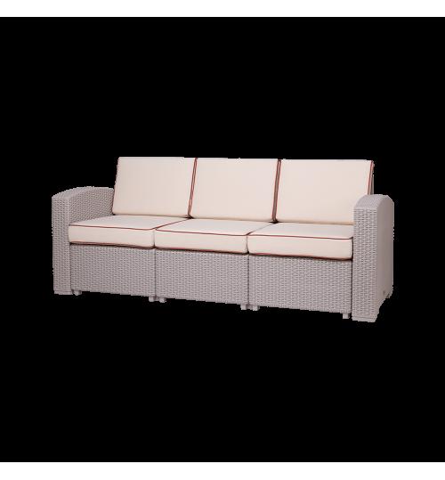 Lagoon Magnolia 3-Seated Sofa 7023