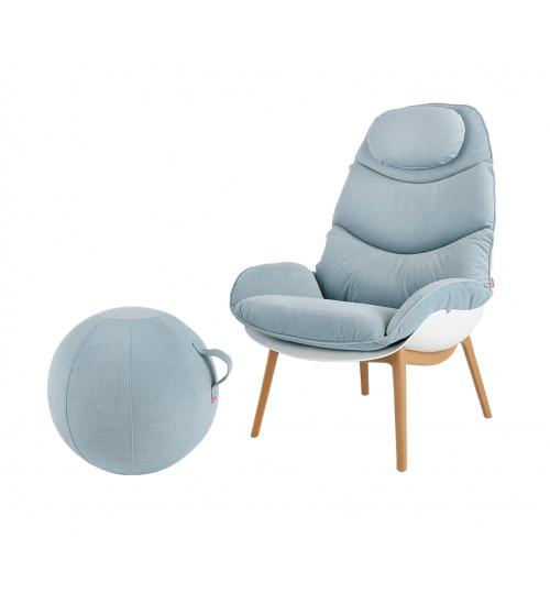 Lagoon Monstera Lounge Chair 7066 LC