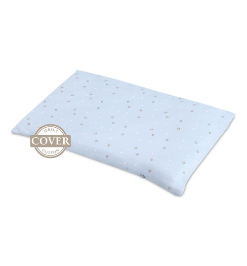 Comfy Baby Pillow Cover (Baby Blue)