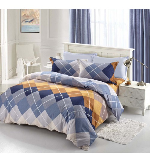 Chester London Beverly Hills Polo Club Jazz Quilt Cover Set (King Size)