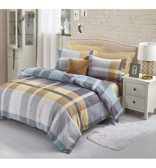 Chester London Beverly Hills Polo Club Royal Quilt Cover Set (Queen Size)