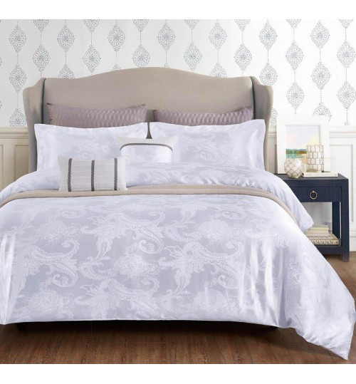 Chester London Silky Jaquard 7pcs Comforter Set Louvre (Queen Size)