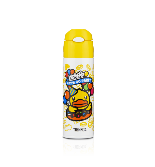 Thermos 0.55L FHL-551 B-Duck Ultra Light Straw Bottle