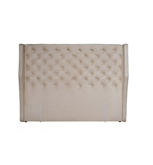 GETHA DIAMOND SQUARE WITH B-WING ( KING ) ( HEADBOARD ONLY )