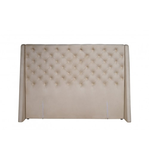 GETHA DIAMOND SQUARE WITH V-WING ( KING ) ( HEADBOARD ONLY )