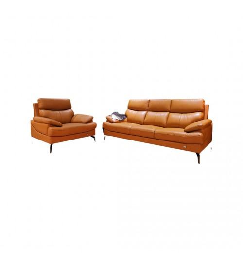 Future 7071 Leather Sofa (1+3 Seaters)