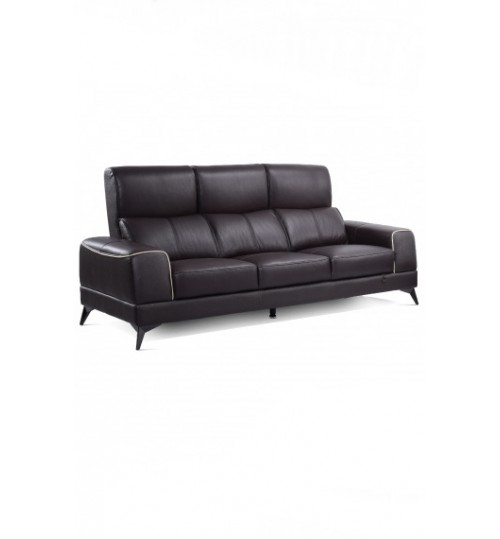 Future 7073 Leather Sofa (3 Seaters)