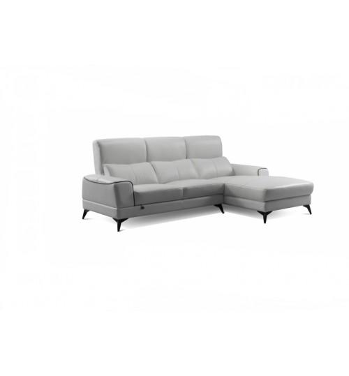 Future 7073 Leather Sofa (L-Shaped)