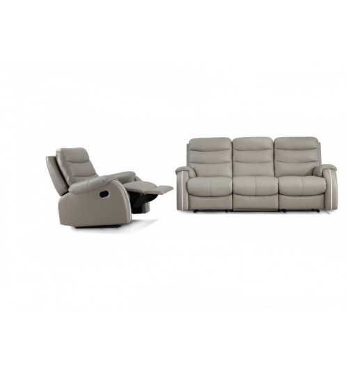 Future 9910 Leather Recliner (1+3 Seater)