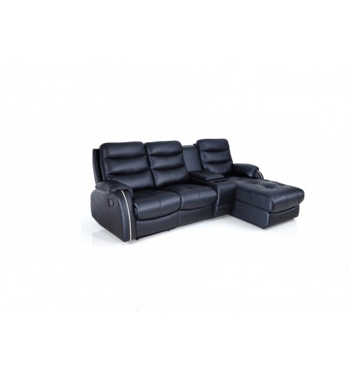 Future 9910 Leather Recliner (L-Shaped)