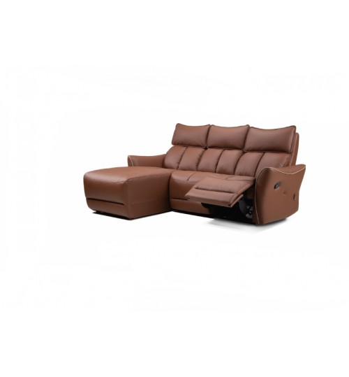 Future 9920 Leather Recliner (L-Shaped)