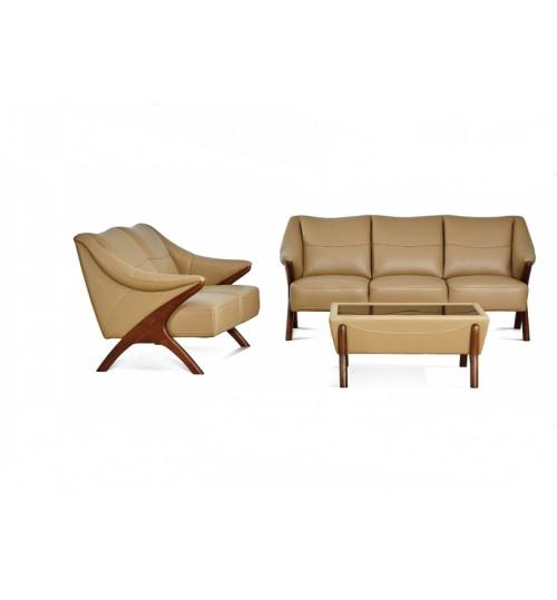 Future H01 Leather Sofa (2+3+Coffee Table)