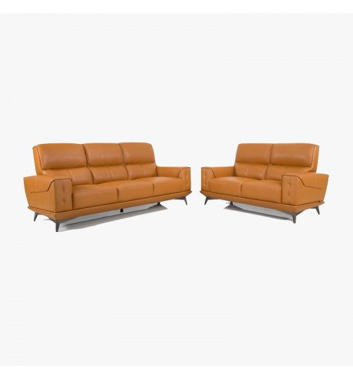 Monte 5001 Leather Sofa (2+3 Seaters)