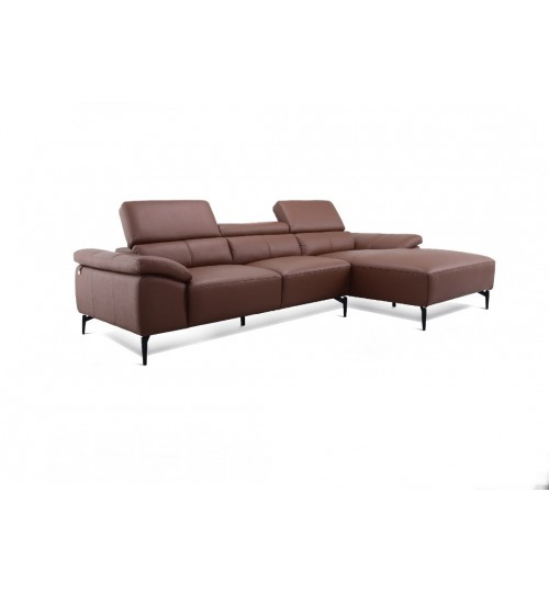 Monte 5012 Leather Sofa (L-Shaped)