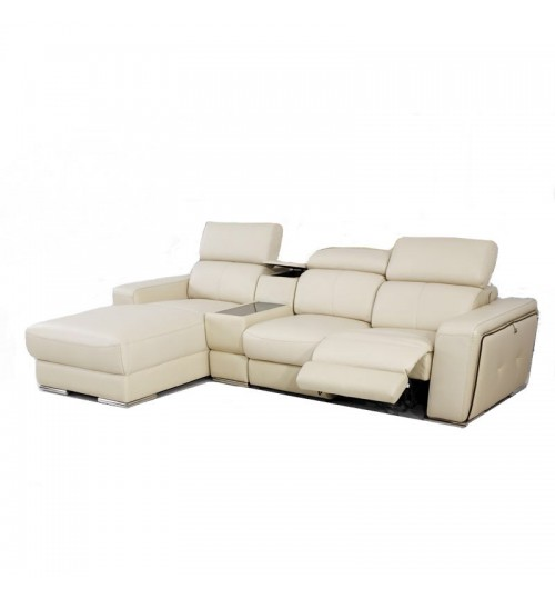 Monte 8001 Leather Incliner (L-Shaped)