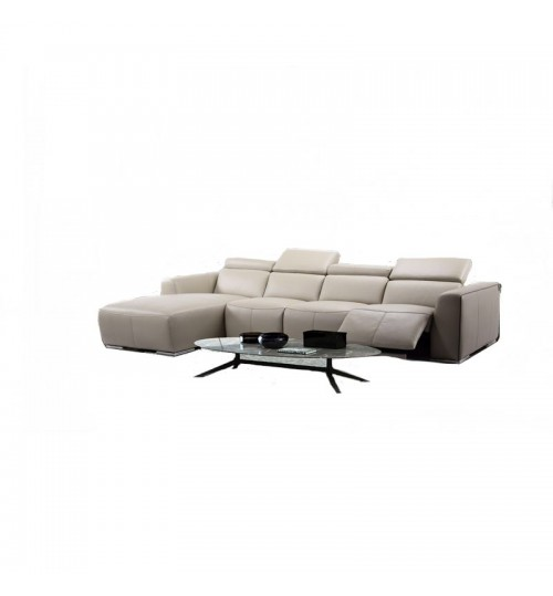 Monte 8003 Leather Incliner (L-Shaped)
