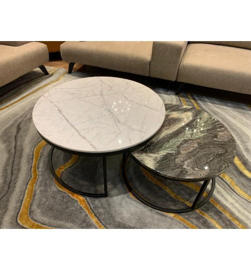 Twice Marble Coffee Table ( Off-Season Clearance )
