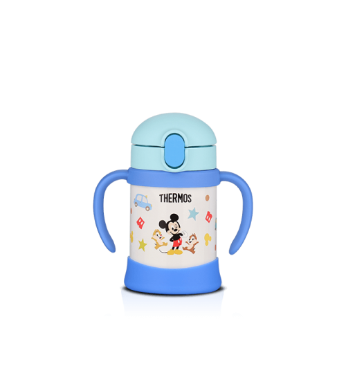 Thermos 0.25L FHV-250DS Disney Straw Cup with Handle