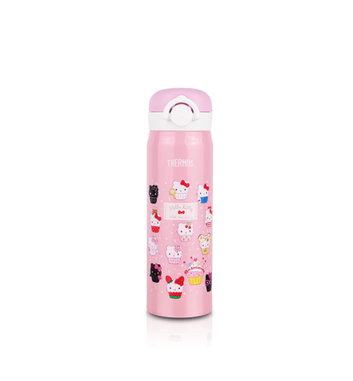 Thermos 0.5L JNR-500KT(45TH) Hello Kitty Trendy and Light Flask