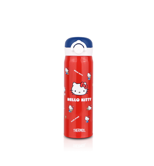Thermos 0.5L JNR-500KT(RDBL) Hello Kitty Trendy and Light Flask