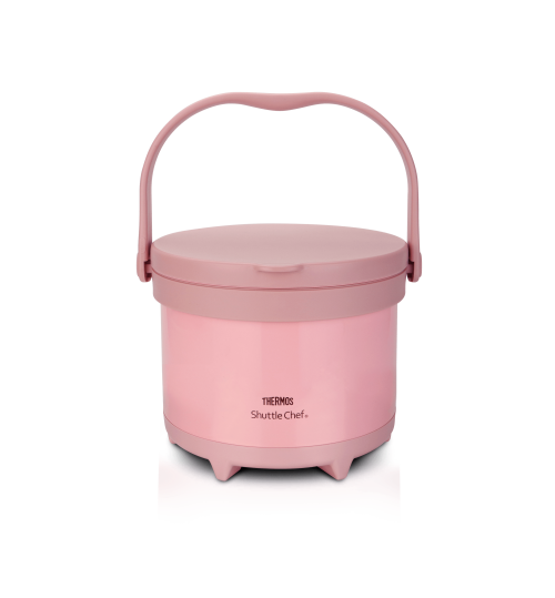 Thermos 3.0L TCRA Limited Edition Pink Convenient Outdoor Shuttle Chef