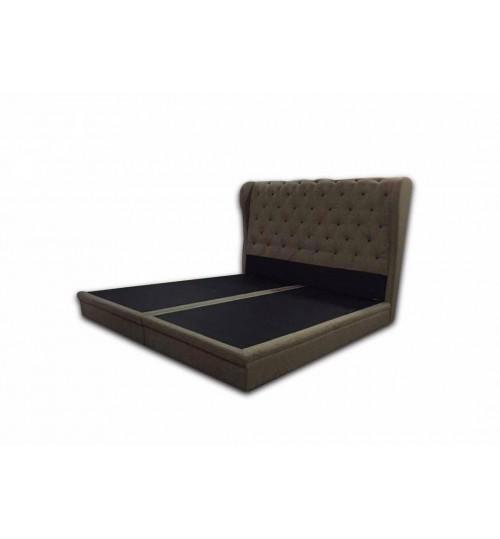 Button Design Bedframe - 028 (King Size)